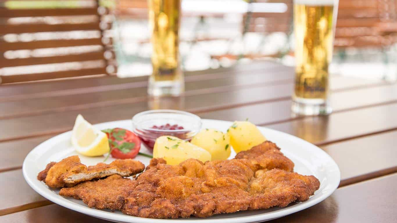 Das Original Wiener Schnitzel vom Kalb